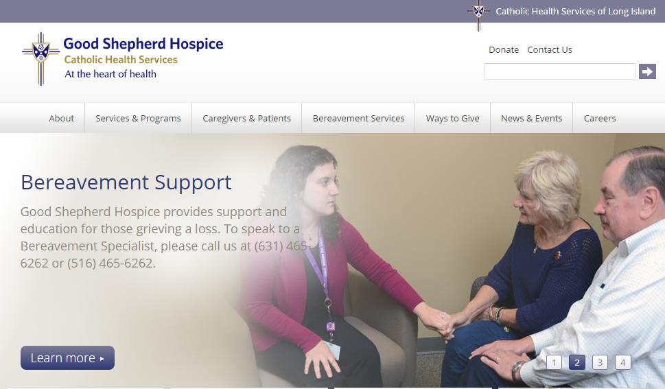 Good shepherd hospice website